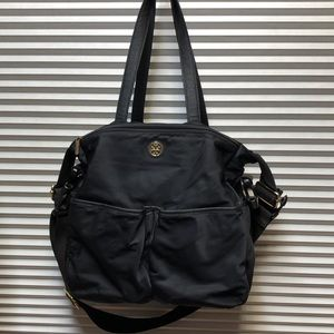 Tory Burch Diaper Bag Black Nylon